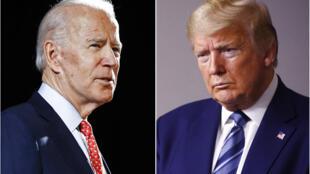 Joe Biden Donald Trump AP20157633950602