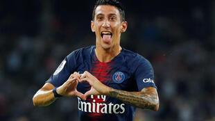 Angel di Maria stuck twice in PSG's 4-0 romp past Monaco.