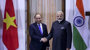 Inde - Vietnam - Premier Ministre AP18024550161127
