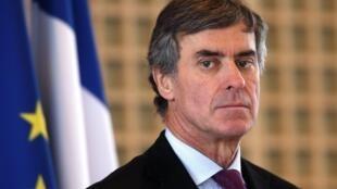 Jérôme Cahuzac,  ministro francês do Orçamento.