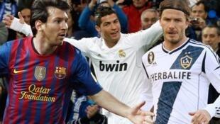 Beckham ya fi Messi da ronaldo samun kudi