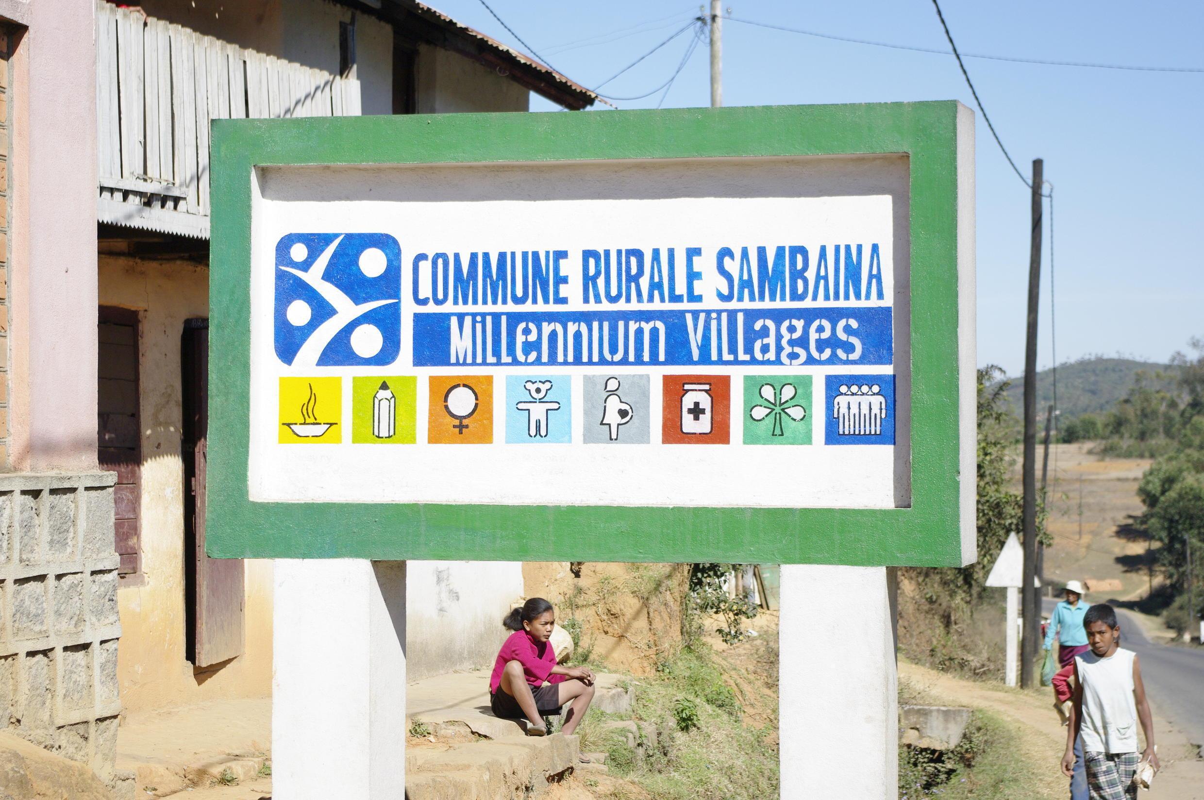 Millenium Village of Sambaina in Madagascar
