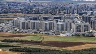 La ville d'Afula, dans le nord d'Israël (photo d'illustration).