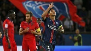 Para o capitão do Paris Saint-Germain, Thiago Silva, o objetivo do PSG  é ganhar a Liga dos Campeões