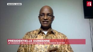 Cellou Dalein Diallo, kíder da oposição na Guiné-Conacri.