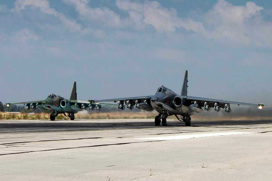 Một sân bay quân sự của chính quyền Syria.