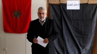 O novo primeiro-ministro do Marrocos, Abdelillah Benkirane.
