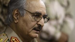 Le général libyen Khalifa Haftar (photo d'archives).