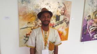 Issouf Ouédraogo, gérant du centre artisanal de Grand-Bassam, et du centre de ressources professionnelles.