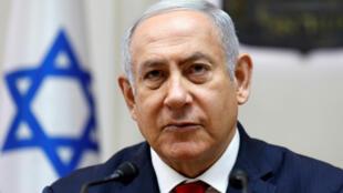Benjamin Netanyahu, le 24 juin 2018.
