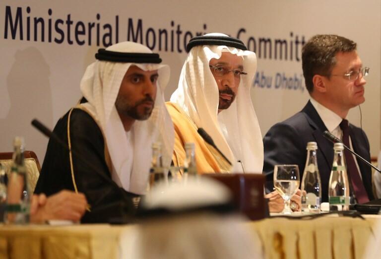 وزرای نفت عربستان، امارات و روسیه در نشستی در یازدهم نوامبر