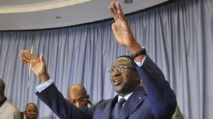 Soumaïla Cissé, président de l'UDR, chef de file de l'opposition malienne.