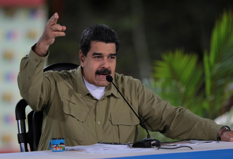 Le président vénézuélien a apporté des précisions sur l'attaque d'une base militaire dans le nord du pays, lors de son émission hebdomadaire «Les dimanches de Maduro», le 6 août 2017.