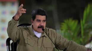 Rais wa Venezuela Nicolas Maduro, Agosti 6, 2017.