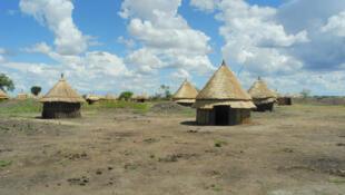 Le nouveau village de Bildak, dans la région de Gambela en Ethiopie.