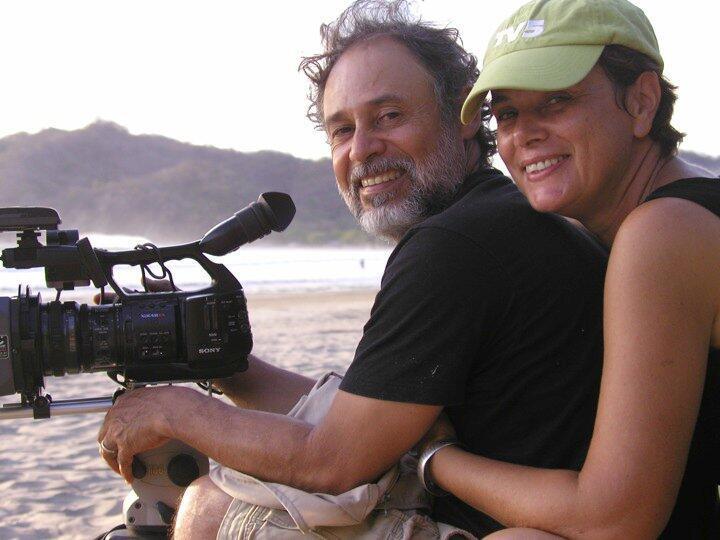 Florence Jaugey y Frank Pineda rodando 'La Yuma'.