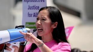 Leana Wen, la présidente du planning familial en mai 2019.