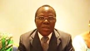 Le professeur Niamkey Koffi, porte-parole d'Henri Konan Bédié.