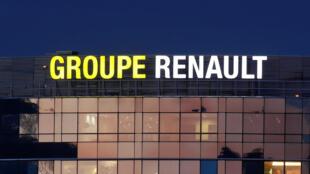 Image d'archive: Le siège social du groupe Renault à Boulogne-Billancourt, près de Paris, le 21 novembre 2018.