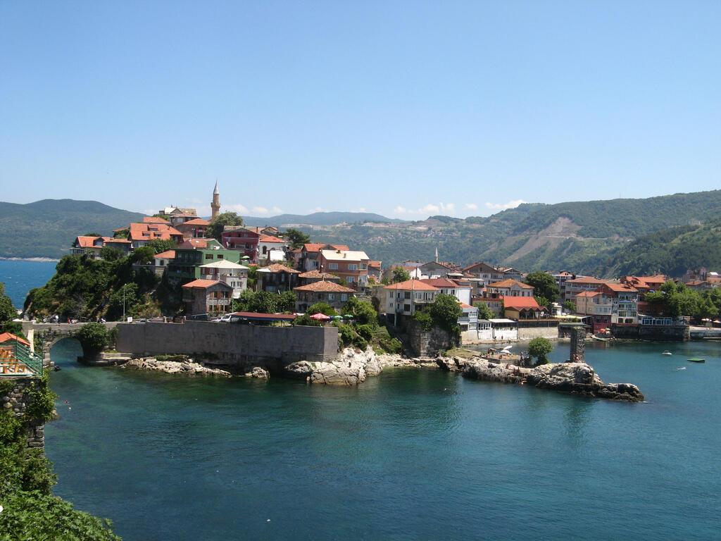 Thị trấn Amasra, tỉnh Bartin của Thổ Nhĩ Kỳ tại Biển Đen.