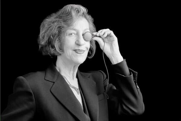 Andrée Putman, a grande dama do design francês.