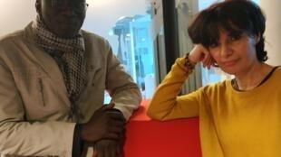 Babacar Mbaye Diop et Yasmine Chouaki.