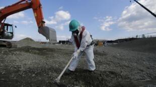 Opérations autour de la centrale de Fukushima (image d'illustration).