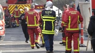 Imagem ilustrativa dos bombeiros de Paris.