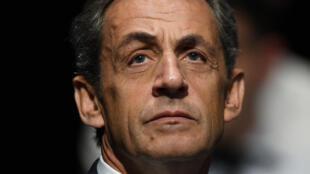 El expresidente Nicolas Sarkozy en una foto del 1 de octubre de 2016 en Sables d'Olone, oeste de Francia