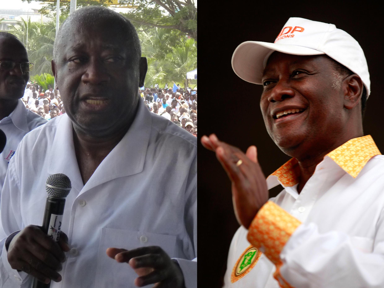 Laurent Gbagbo e Alassane Ouattara