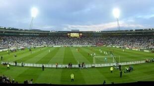Le Westpac Stadium, à Wellington en Nouvelle-Zélande.