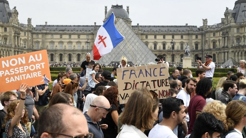 French Senate passes law on 'Health Pass' but it is not a done deal yet