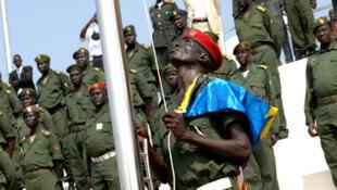 Lever des couleurs au Sud-Soudan.