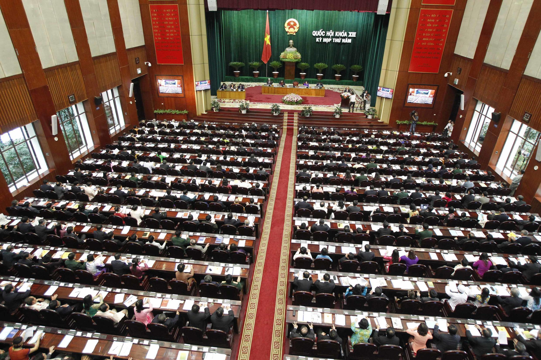 Toàn cảnh khai mạc kỳ họp Quốc hội Việt Nam tháng 5/2013 - Reuters