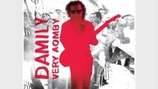 La pochette du onzième album <i>Very Aomby, </i>du guitariste et chanteur Damily.