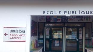 Ecole à Ascains au Pays basque.
