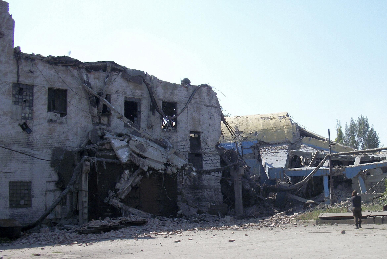Шахта им. Баженова в Макеевке Донецкой обл. 29/07/2011