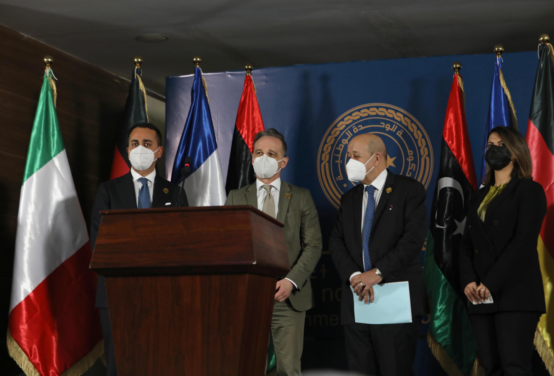 Libye - diplomatie - jean-yves le drian