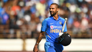 India's Shikhar Dhawan has played 61 T20 internationals since his debut in 2011