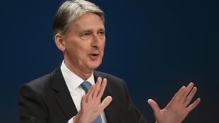 Le ministre britannique des Finances, Philip Hammond, veut «une période d'adaptation».