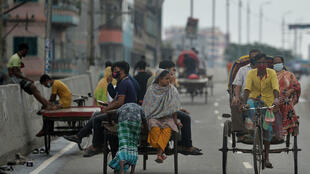 Bangladesh ordered a lockdown on July 1 to contain the spread of Covid-19