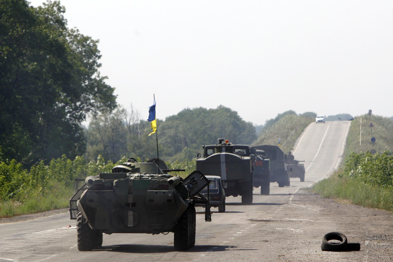 Quân đội Ukraina tập trung tấn công vào các thành trì của phe ly khai thân Nga, ở Donetsk - Reuters