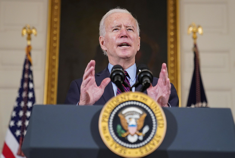 Joe Biden , Presidente  dos  Estados Unidos 05 02 2021