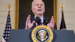 Joe Biden à la Maison Blanche le 5 février. (Illustration)