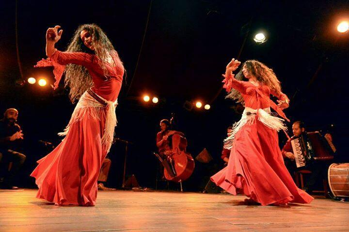 Nuria Rovira Salat and Karine Gonzalez open the festival at Aubervilliers' Magic Mirrors theatre