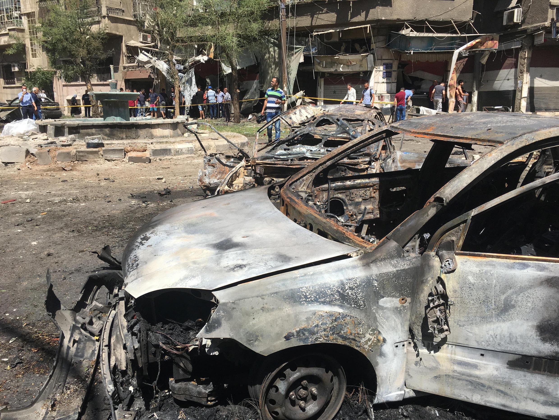 Inda aka sami harin kunar bakin wake a Syria