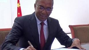 Narson Rafidimanana,le ministre malgache en charge des projets présidentiels, de l'Aménagement du territoire et de l'Equipement.