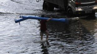 曼谷部分市區被淹