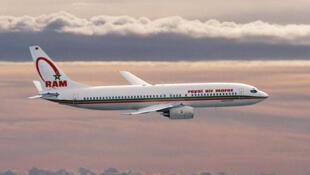 Un avion de la compagnie Royal Air Maroc.