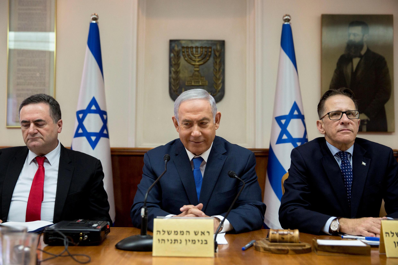 Thủ tướng Israel Benyamin Netanyahu tại Jerusalem, ngày 29/07/2018.